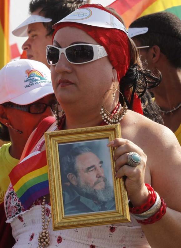 Jornada contra la Homofobia en La Habana. Foto: REUTERS/Enrique De La Osa