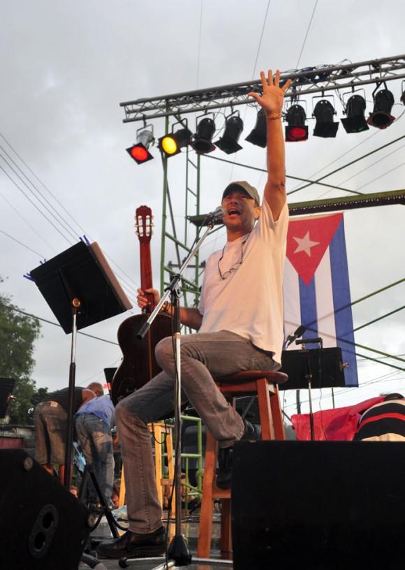 El trovador dominicano José Antonio Rodríguez. Foto: Kaloian.