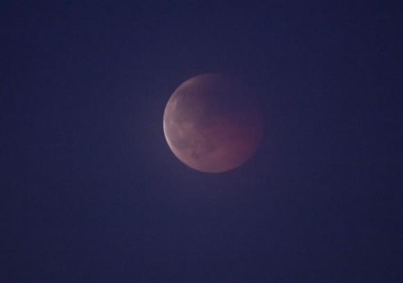 Eclipse Lunar visto desde Alemania