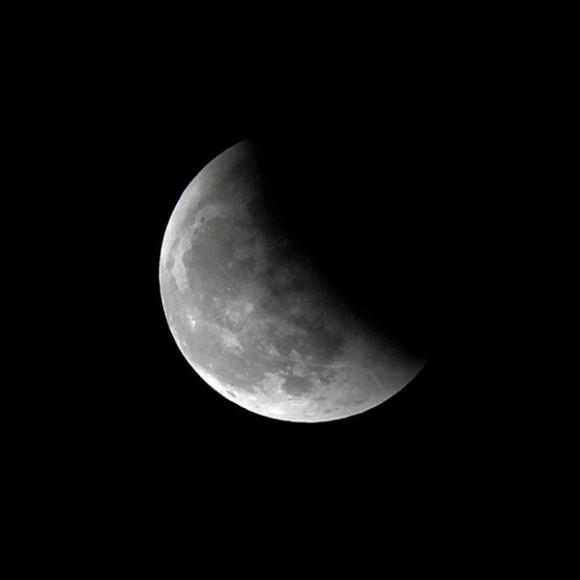 Eclipse Lunar visto desde España