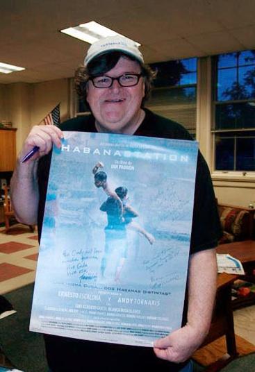 Habanastation: Michael Moore