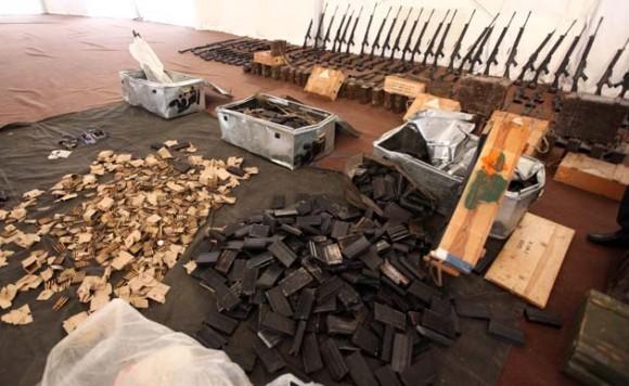 LIBYA-CONFLICT-WEAPONS