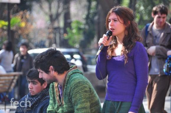 Camila Vallejo. Foto: El Ciudadano, Chile