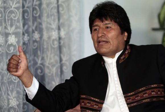 El Presidente Evo Morales en entrevista con la Mesa Redonda. Foto: Ismael Francisco