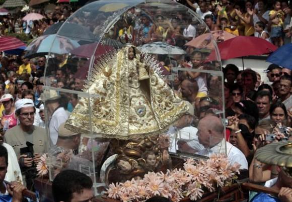 Cuba: concluye recorrido de la Virgen de la Caridad en Madruga. Foto: Ismael Francisco