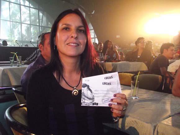 """Rochy, fue nominada en la categoría  video Canción y Balada por """"Contracorriente"""" del realizador Luis Najmias Jr.  Foto: Marianela Dufflar"""