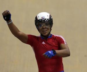 La destacada ciclista cubana Lisandra Guerra. Foto Ismael Francisco/Cubadebate