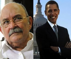 Padre Miguel d'Escoto y Barack Obama.
