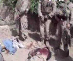 Video escándalo: Marines orinan sobre cadáveres de talibanes