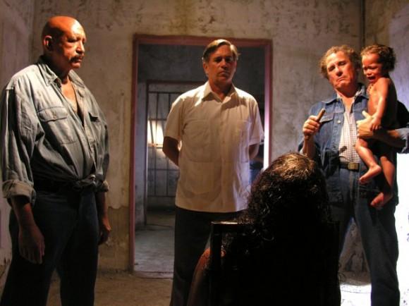 El actor cubano Patricio Wood interpreta a Posada joven.