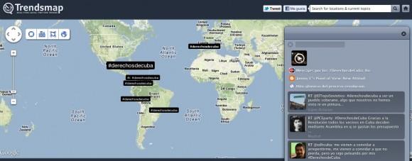 Los usuarios más activos según TrendsMap.com