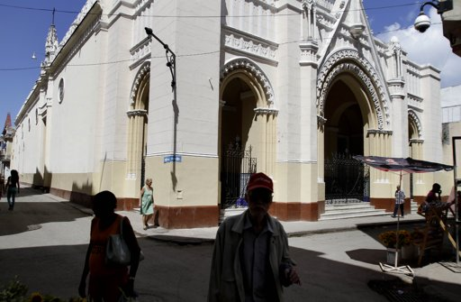 Santuario Diocesano y Basílica Menor de Nuestra Señora de la Caridad en La Habana. Foto: Franklin Reyes/ AP