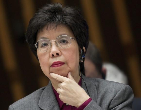 Margaret Chan, directora general de la Organización Mundial de la Salud. Foto: AP