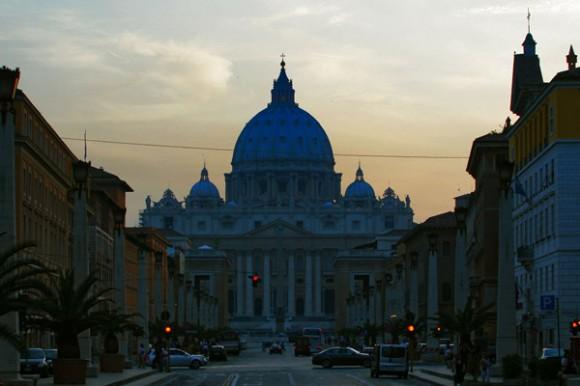 Plaza de San Pedro en el Vaticano.  Foto: Ismael Francisco/Cubadebate.