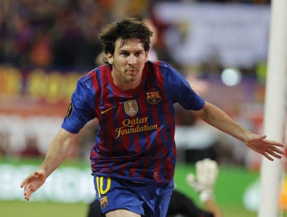 El mejor del mundo firmó el 0-2  Foto: Rafa Casal