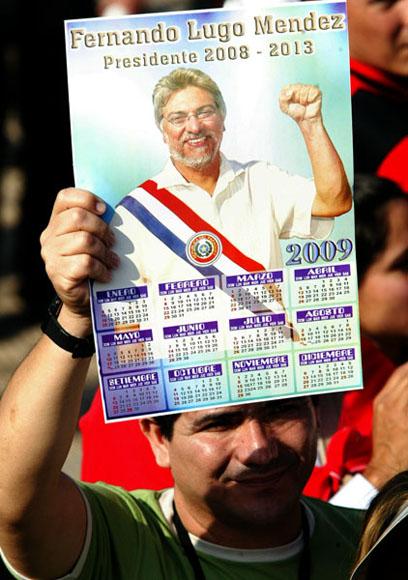 Acto de toma de Posesión del presidente Fernando Lugo, en la sede del Congreso Nacional. Foto: Ismael Francisco/Cubadebate.