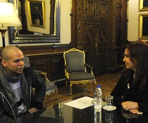 Foto: EFE/Presidencia de Argentina.