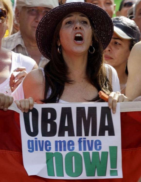 Mariela Castro en San Francisco. Foto: AP