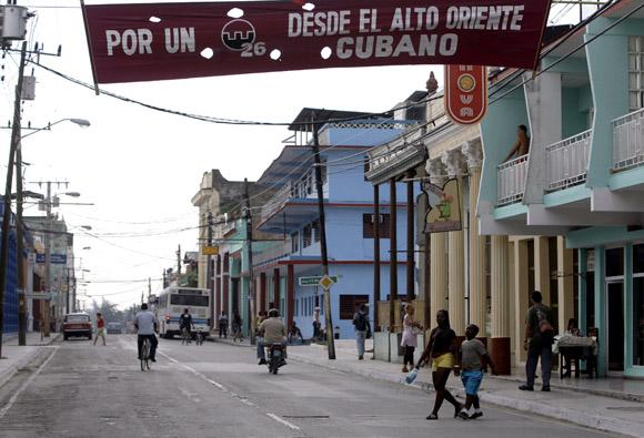Guantánamo está de fiesta para celebrar el Acto Nacional por el 26 el Julio. Foto: Ismael Francisco/Cubadebate.