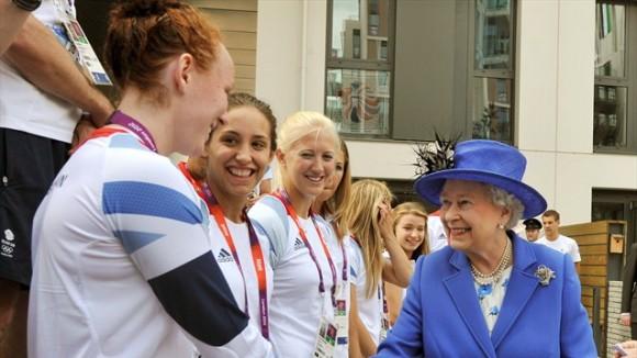 La Reina visitó el Parque Olímpico