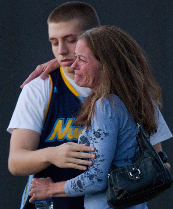 El terror se apoderó de Denver, Colorado. Foto: Los Angeles Times