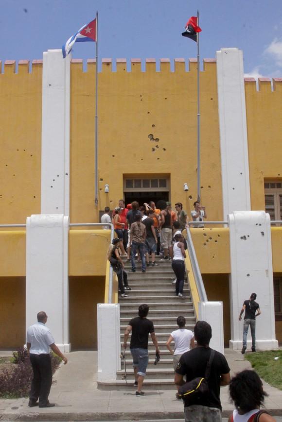 3-Cuartel Moncada. Foto: Alejandro Ramírez Anderson.