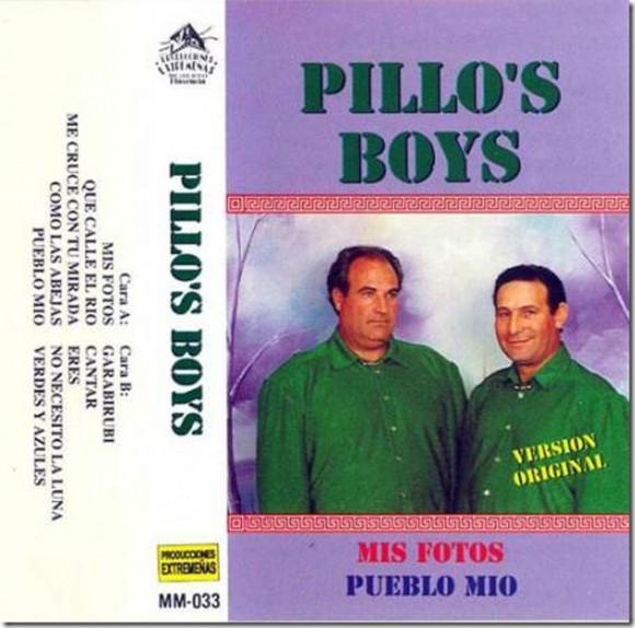 «El puente de Talavera» o «Candeleda» son algunas de las cancione más conocidas de estos Pillos Boys, que a tenor por la portada no parece que hagan honor a su nombre artístico