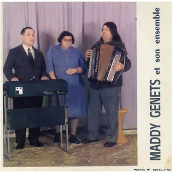 La banda «Mady Genets»