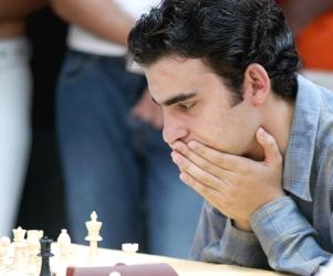 El Gran Maestro cubano Leinier Domínguez.