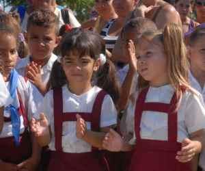 Alumnos cubanos