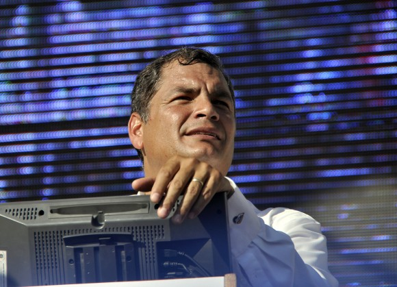 Rafael Correa. Foto: Kaloian