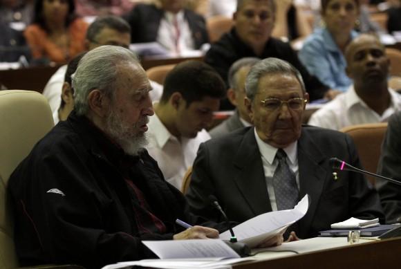 Intervención de Fidel en la ANPP 24 de febrero de 2013. Foto Ismael Francisco-Cubadebate