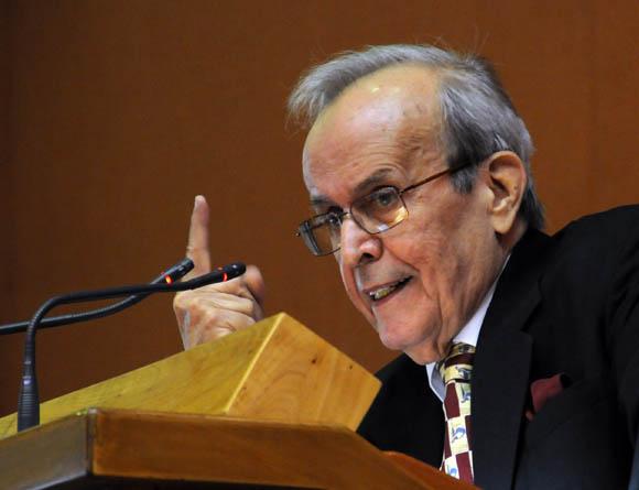Ricardo Alarcón. Foto: Ismael Francisco/Cubadebate.