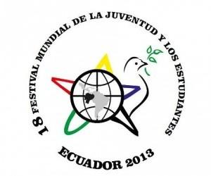 Logo del 18 Festival Mundial de la Juventud