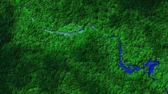 La ciudad está ubicada en la selva hondureña