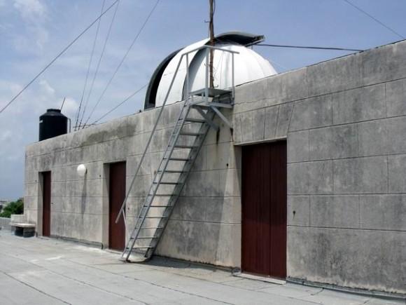 El Observatorio Astronómico de la Universidad de La Habana está ubicado en la tercera planta del edificio Felipe Poey, donde está situada actualmente la Facultad de Matemática y Computación. Foto: Osmel Cruzata Montero.