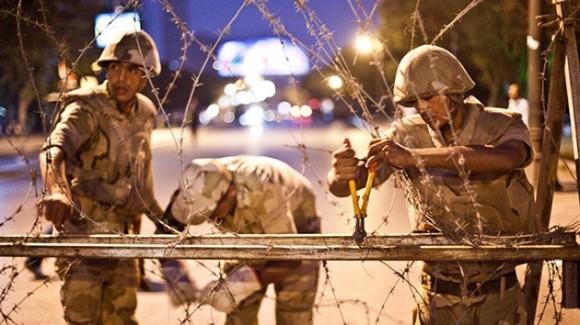 Egipto represión