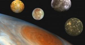 Europa, luna de Júpiterm podría albergar vida.