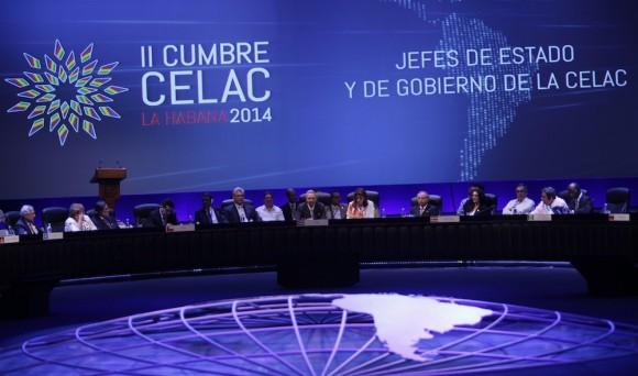 Clausura de la II Cumbre de la Comunidad de Estados Latinoamericanos y Caribeños, CELAC. Foto: Ismael Francisco/ Cubadebate