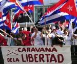 El pueblo habanero saluda a la Caravana de la Libertad, a su llegada y recorrido por la provincia. Foto: Ladyrene Pérez/Cubadebate.
