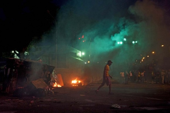 venezuela disturbios