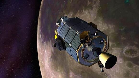 El LADEE fue lanzado en septiembre desde Virginia y se cree que la sonda espacial se hizo añicos al estrellarse. Foto: NASA