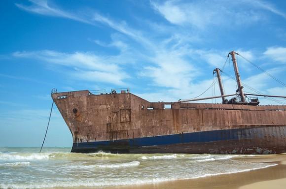 Barco encayado