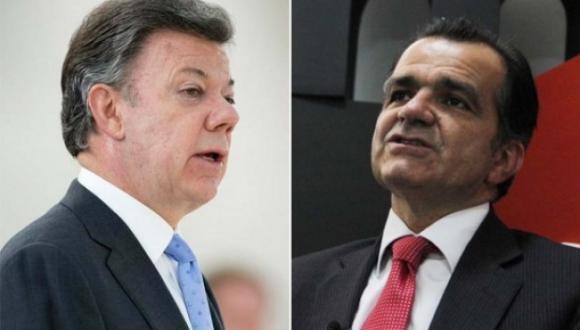 El opositor Óscar Zuluaga y el mandatario Juan Manuel Santos pasaron este domingo a la segunda vuelta de los comicios presidenciales colombianos, que tendrán lugar el próximo 15 de junio.