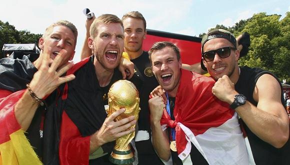 campeones alemanes mundial 2014