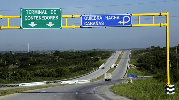 Viaducto Zona Especial de Desarrollo Mariel. Foto: Ladyrene Pérez/Cubadebate.