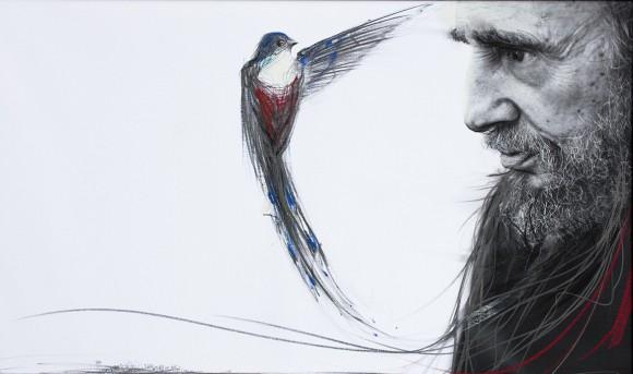 Susurro entre poetas, Roberto Chile - Ernesto Rancaño, 2010. Foto: Roberto Chile.