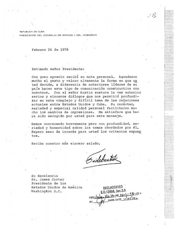 carta de fidel a carter 1978 copia2