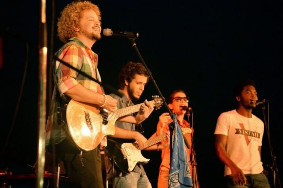 David Torrens y su grupo. Foto: Silvio Rodríguez/ Blog Segunda Cita.