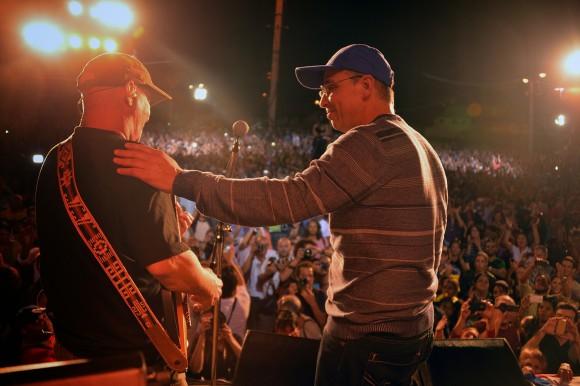 El Tinto y Tony. Foto: Silvio Rodríguez/ Blog Segunda Cita.